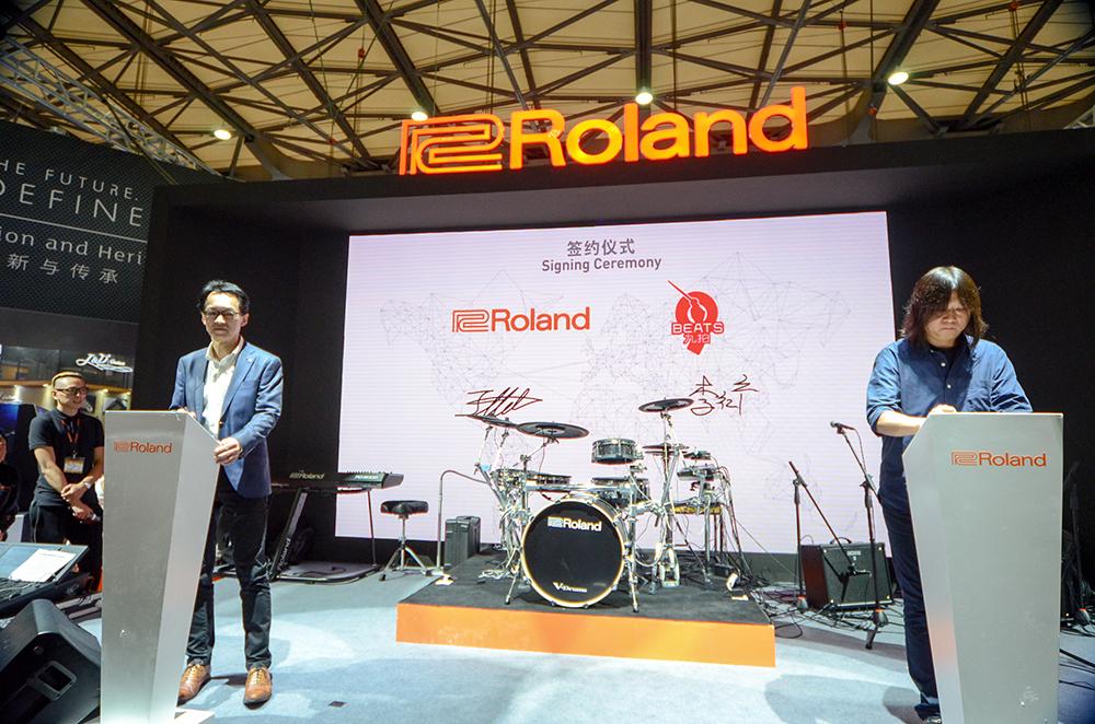 九拍与Roland正式签约 将共创中国现代音乐教育新时代