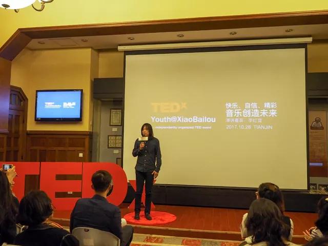 李红育老师登陆TED演讲台,诠释九拍教育理念