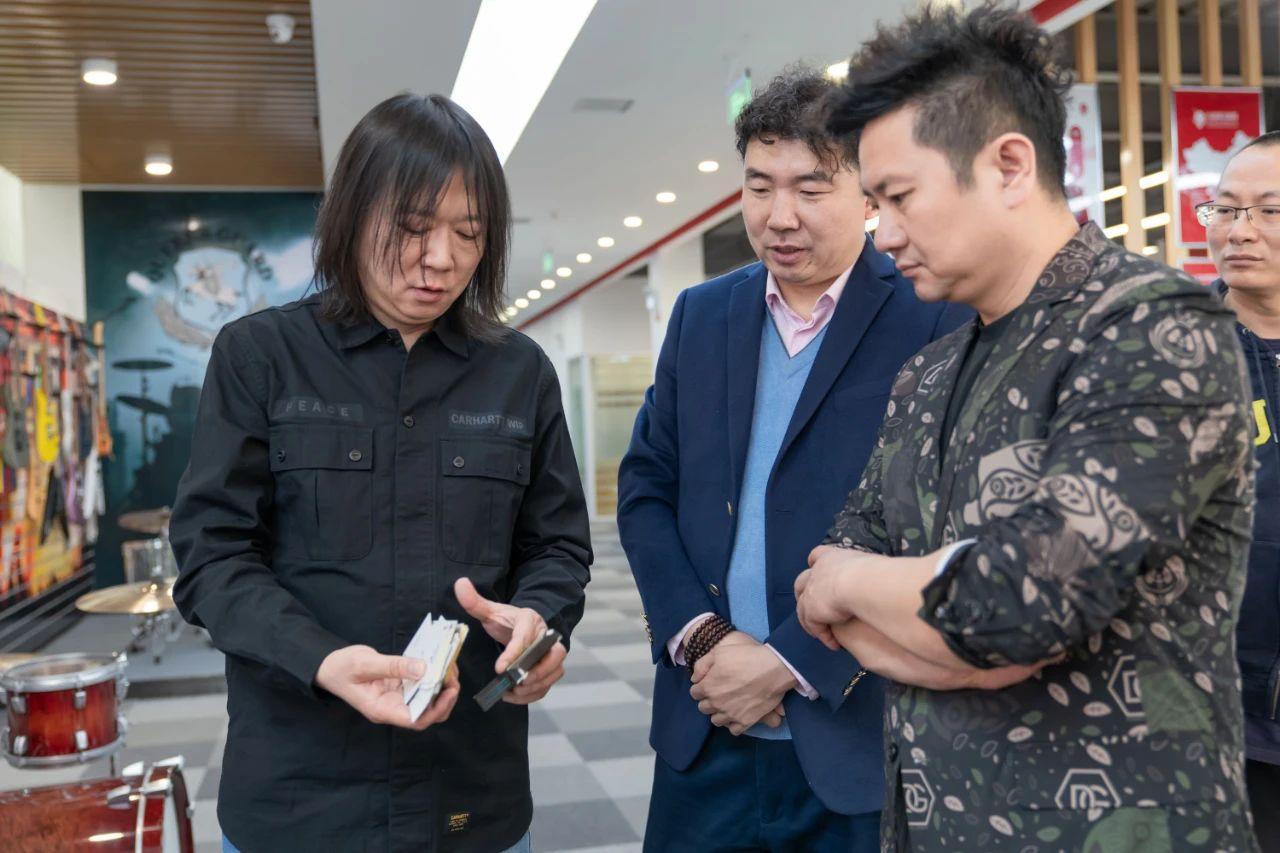 九拍NEWS|网易天津教育总编辑王健、天津电视台主持人朱懿老师参观九拍总部