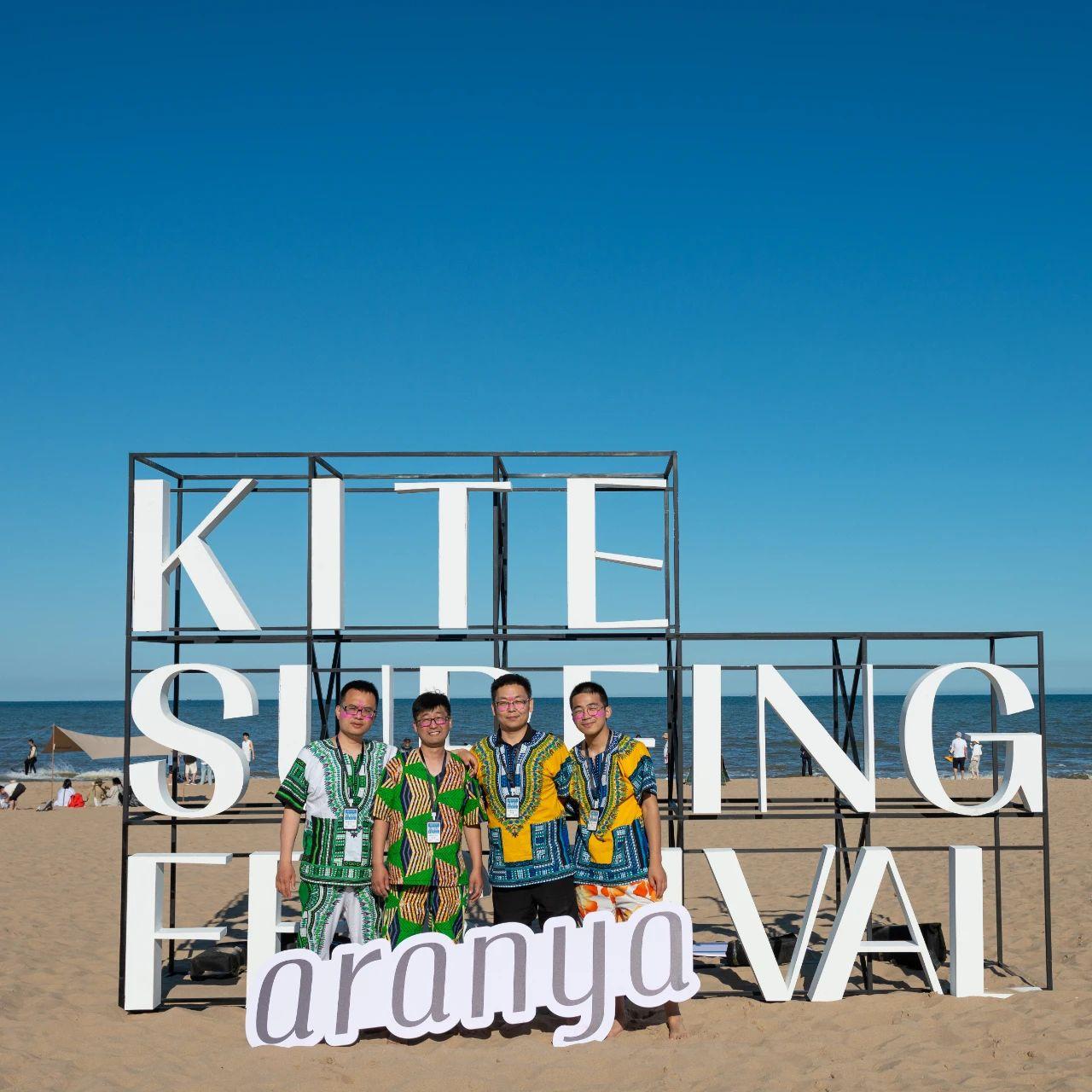 九拍沙滩打击乐工坊现身阿那亚风冲艺术节